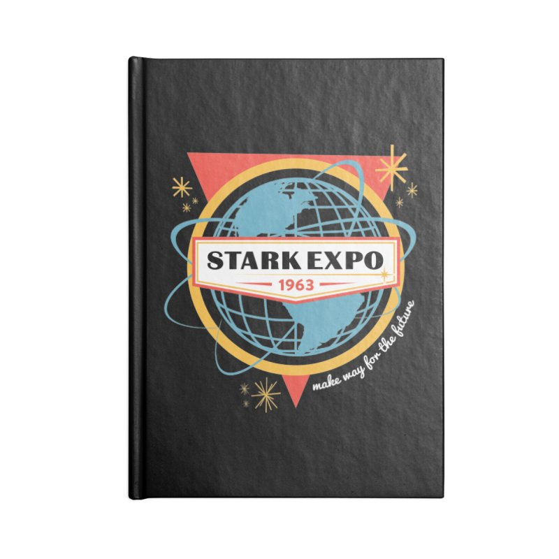 Expo 63 Accessories Blank Journal Notebook by Greg Gosline Design Co.