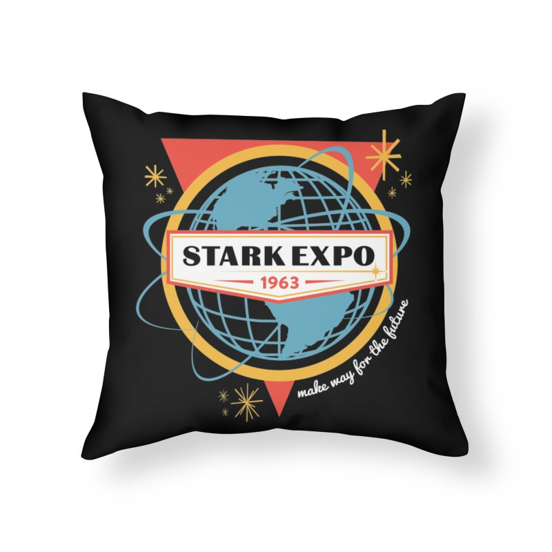 Expo 63 Home Throw Pillow by Greg Gosline Design Co.