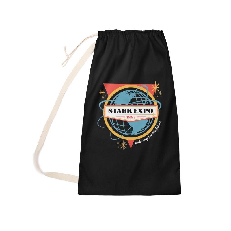 Expo 63 Accessories Laundry Bag Bag by Greg Gosline Design Co.