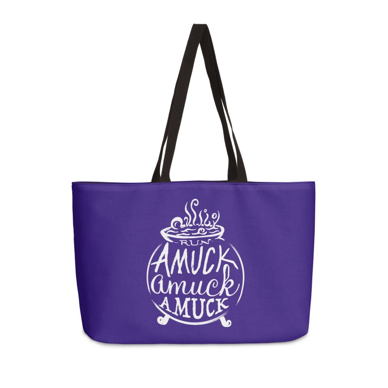 Amuck Accessories Weekender Bag Bag by Greg Gosline Design Co.
