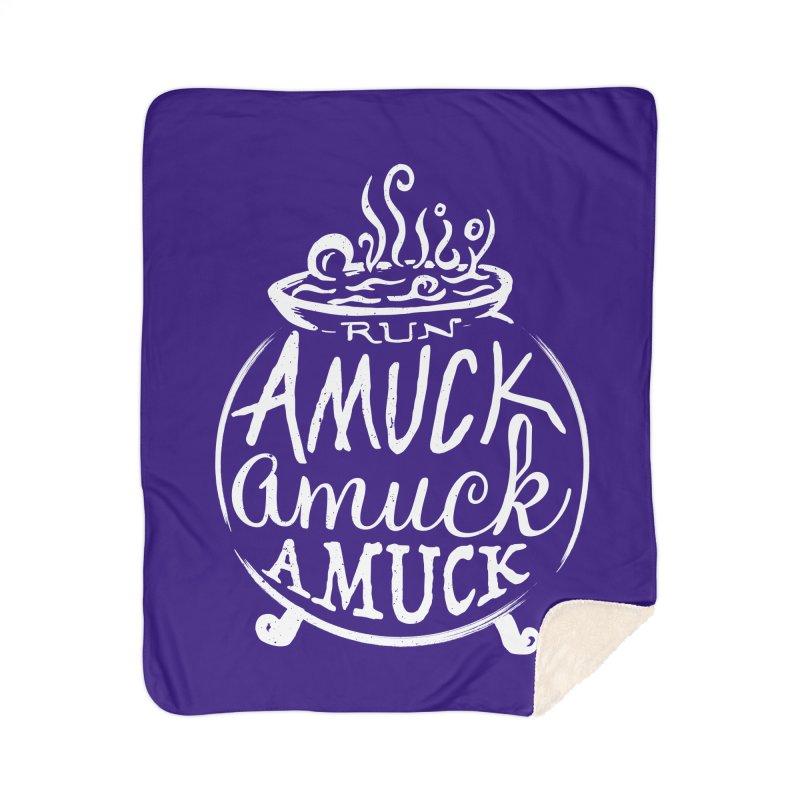 Amuck Home Sherpa Blanket Blanket by Greg Gosline Design Co.