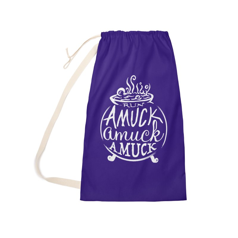 Amuck Accessories Laundry Bag Bag by Greg Gosline Design Co.