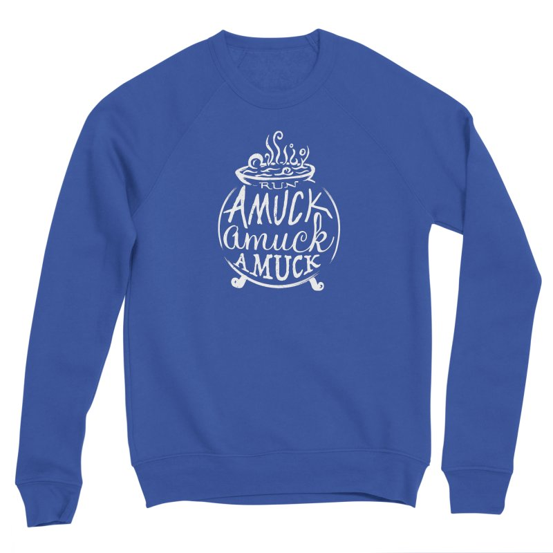Amuck Men's Sweatshirt by Greg Gosline Design Co.