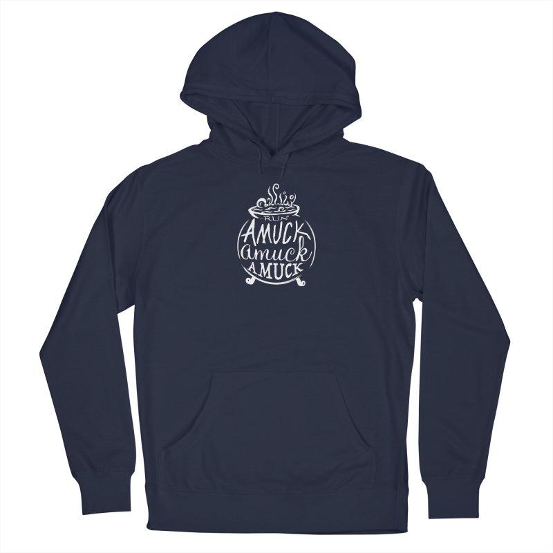 Amuck Men's Pullover Hoody by Greg Gosline Design Co.