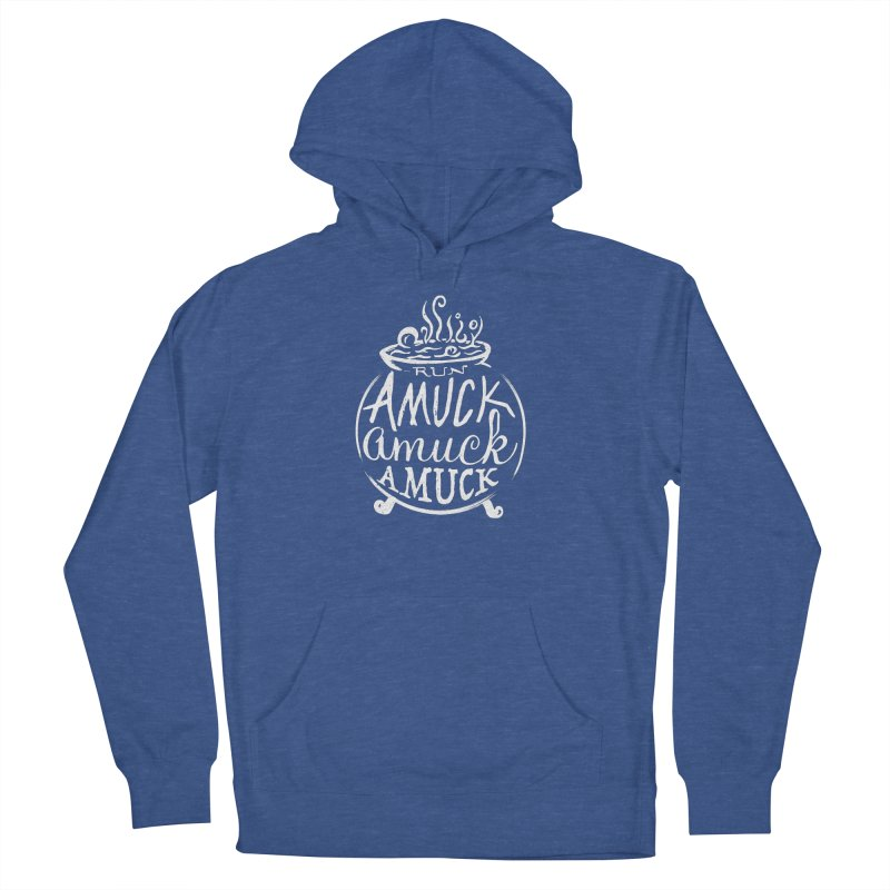 Amuck Men's French Terry Pullover Hoody by Greg Gosline Design Co.
