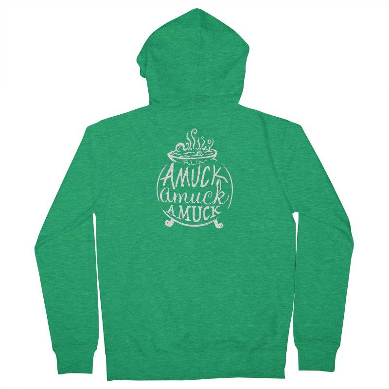 Amuck Women's Zip-Up Hoody by Greg Gosline Design Co.