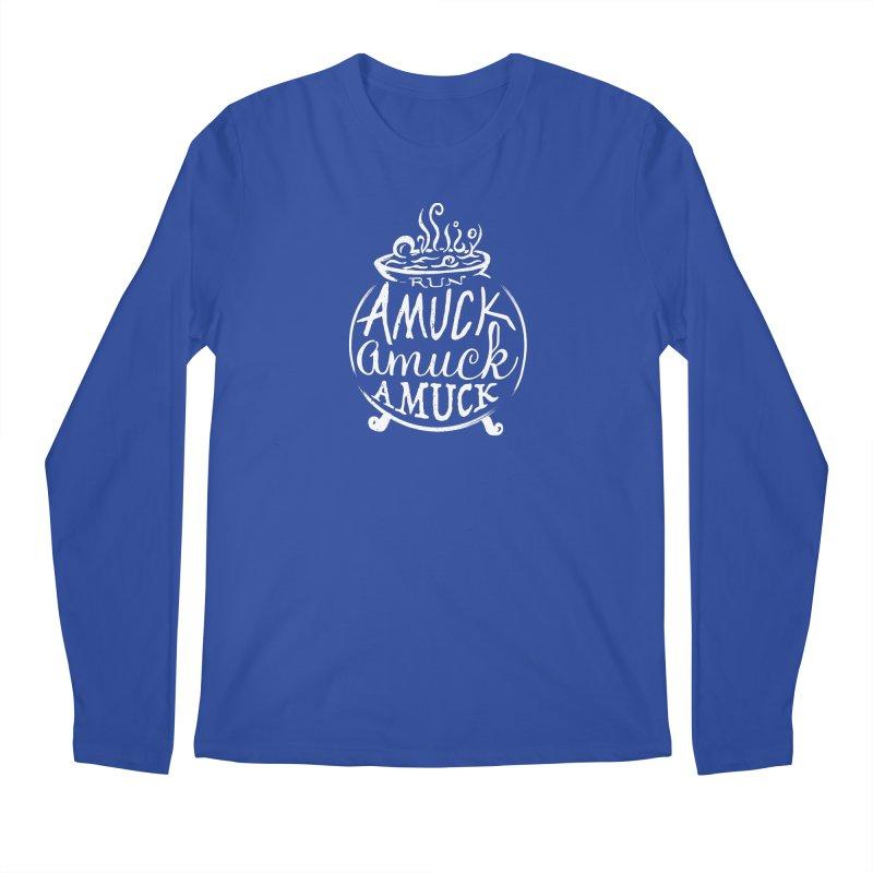 Amuck Men's Regular Longsleeve T-Shirt by Greg Gosline Design Co.