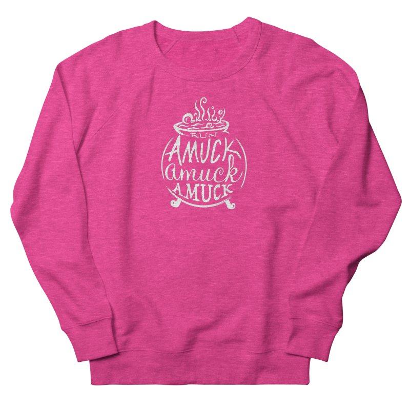 Amuck Men's French Terry Sweatshirt by Greg Gosline Design Co.