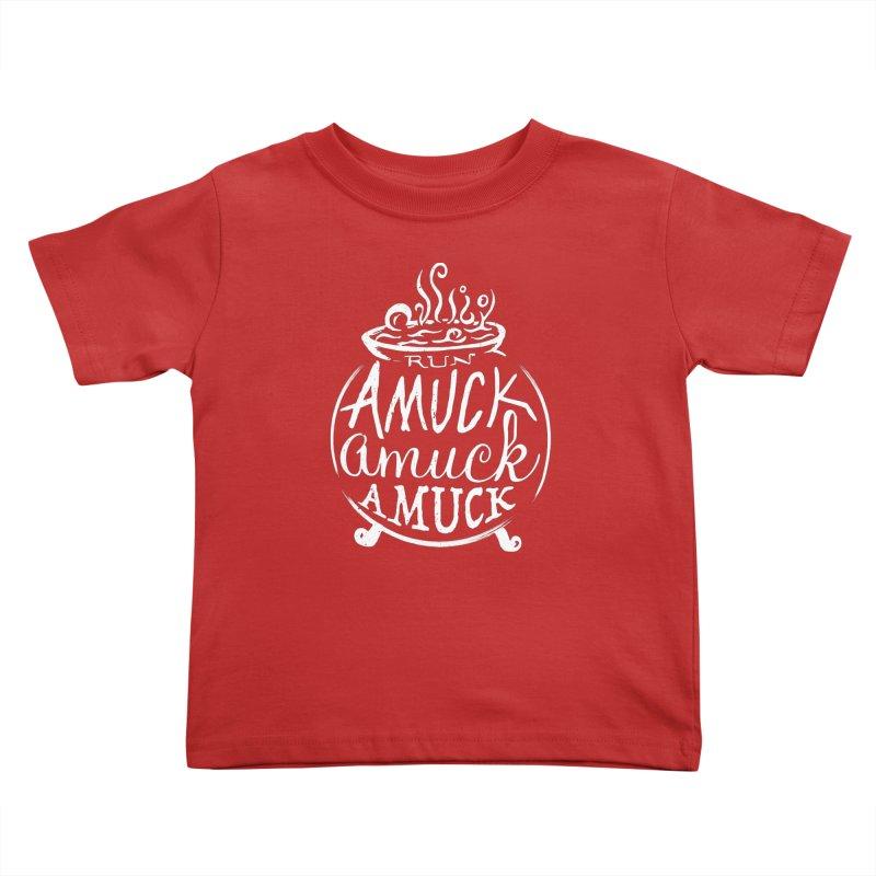 Amuck Kids Toddler T-Shirt by Greg Gosline Design Co.