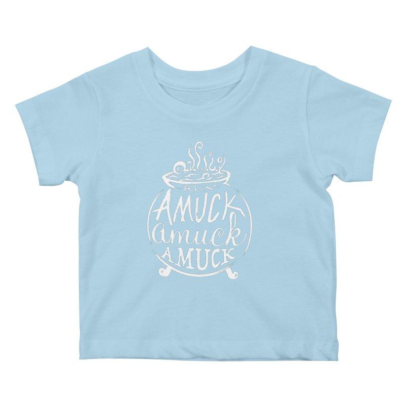 Amuck Kids Baby T-Shirt by Greg Gosline Design Co.