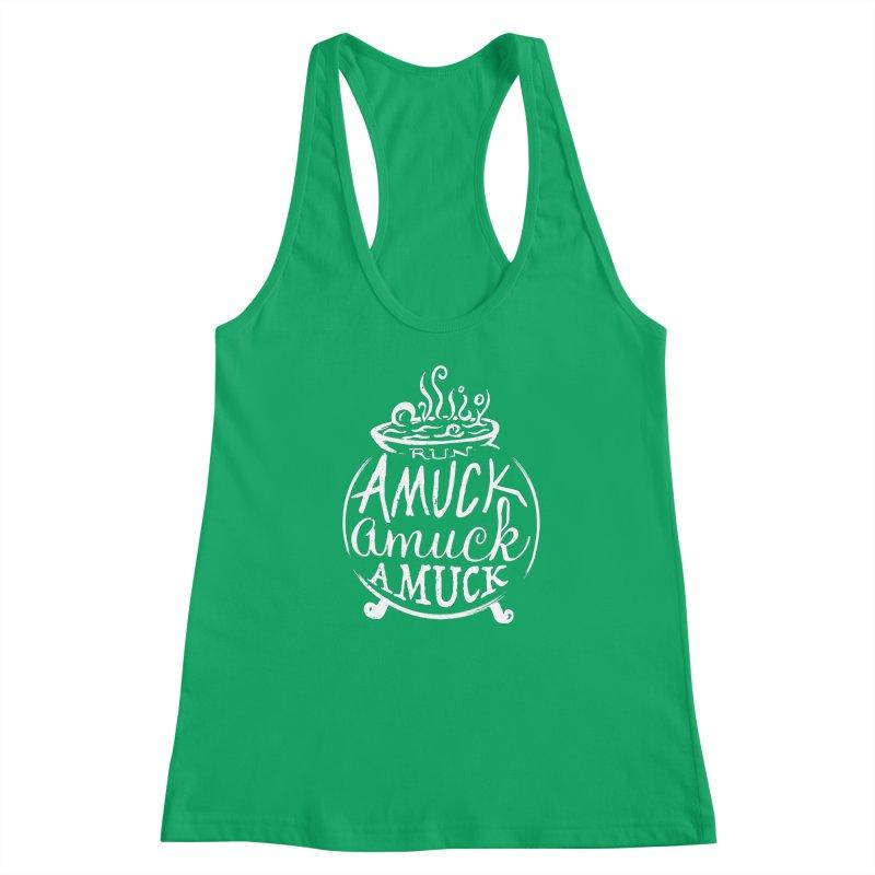 Amuck Women's Tank by Greg Gosline Design Co.