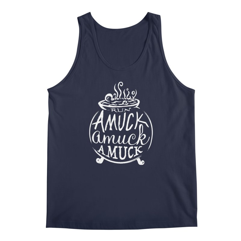 Amuck Men's Regular Tank by Greg Gosline Design Co.