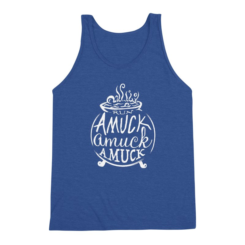 Amuck Men's Tank by Greg Gosline Design Co.