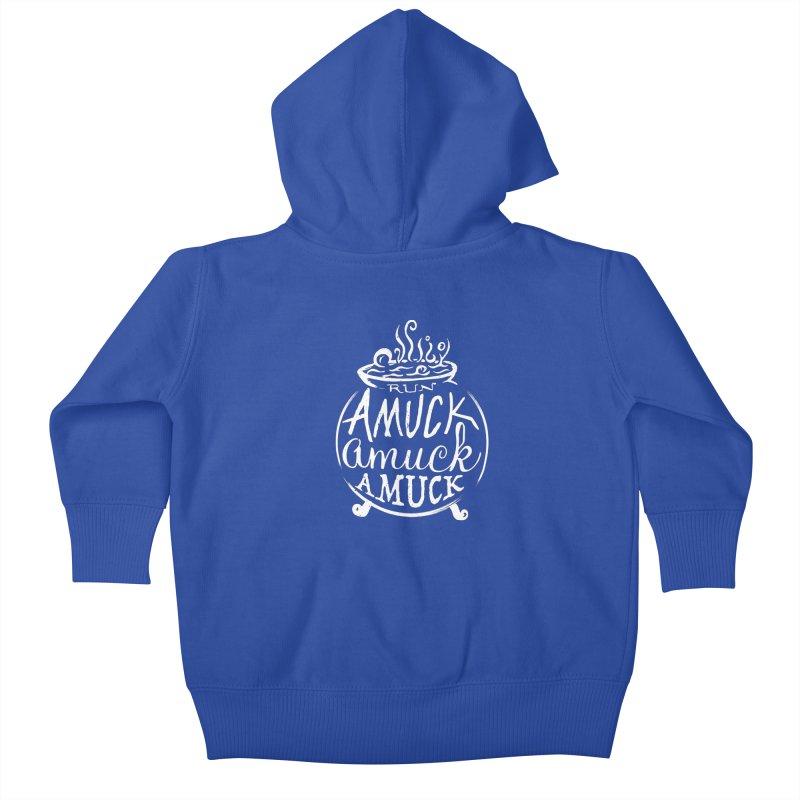 Amuck Kids Baby Zip-Up Hoody by Greg Gosline Design Co.