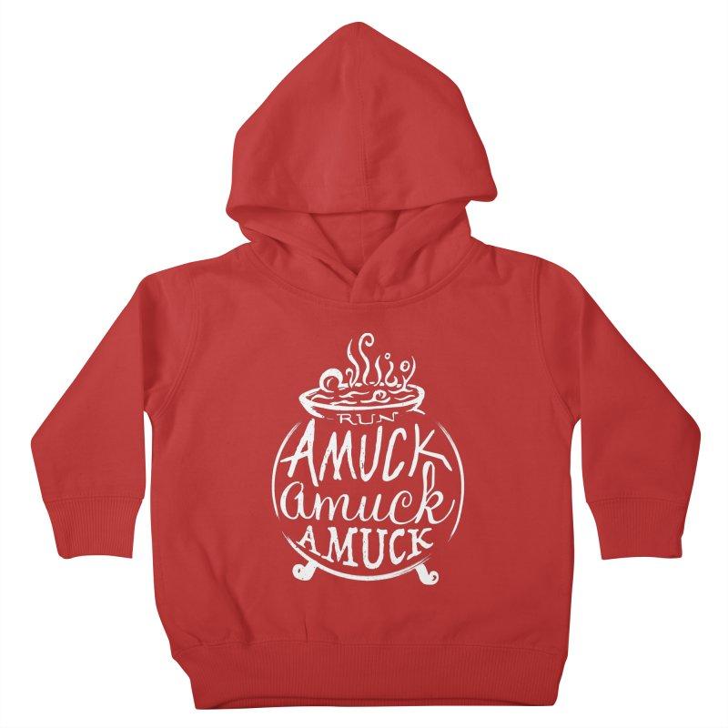 Amuck Kids Toddler Pullover Hoody by Greg Gosline Design Co.