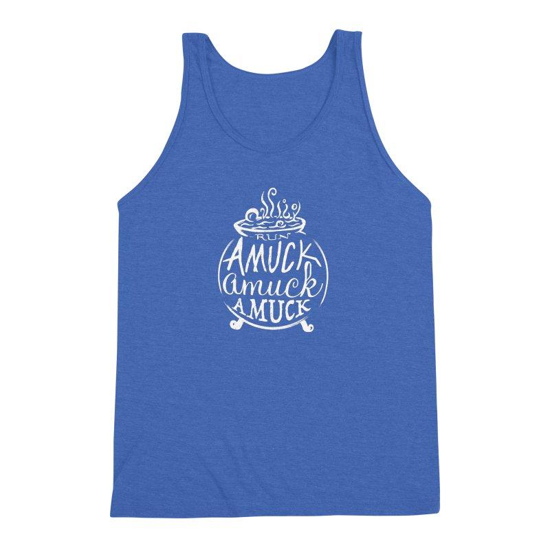 Amuck Men's Triblend Tank by Greg Gosline Design Co.