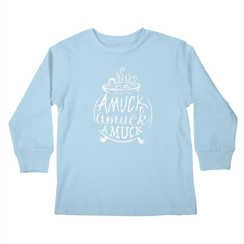 Amuck Kids Longsleeve T-Shirt by Greg Gosline Design Co.