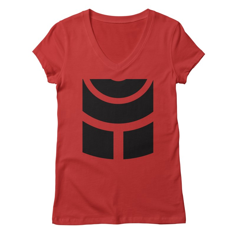 CCC NU18 Women's V-Neck by JG2D Artist Shop