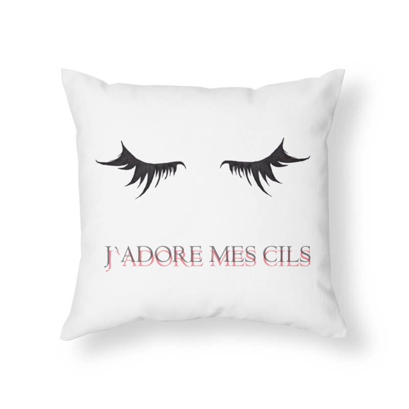 CILS Home Throw Pillow by GLANZ