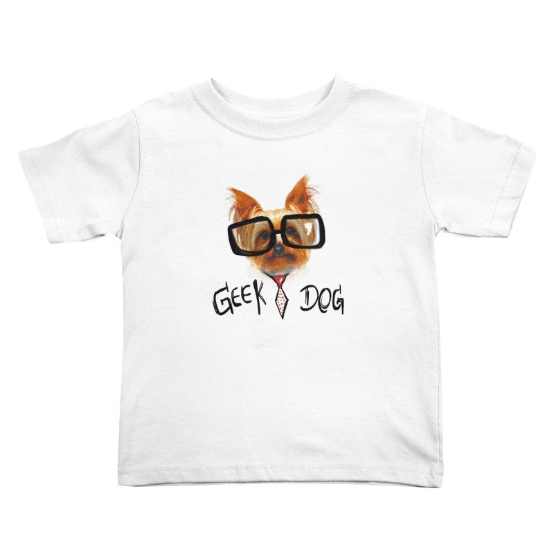 GeekDog Kids Toddler T-Shirt by GLANZ