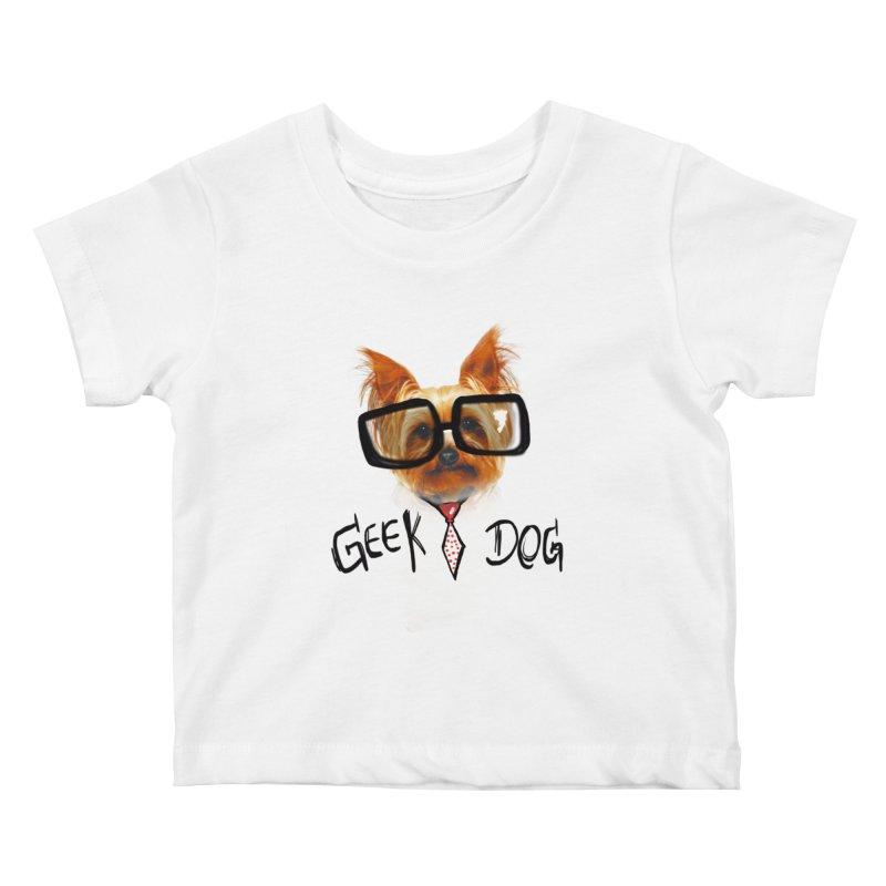 GeekDog Kids Baby T-Shirt by GLANZ