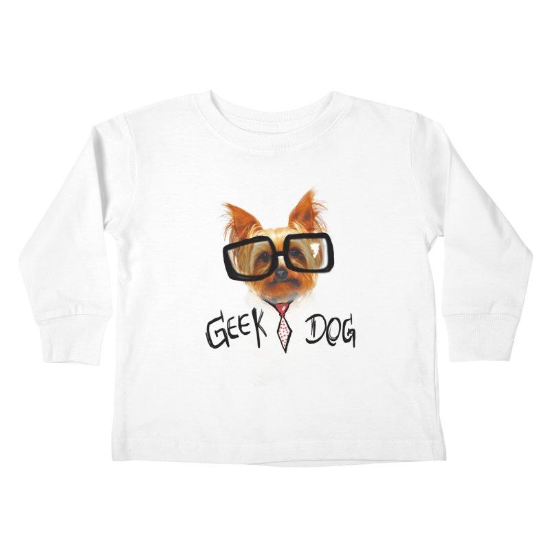 GeekDog Kids Toddler Longsleeve T-Shirt by GLANZ