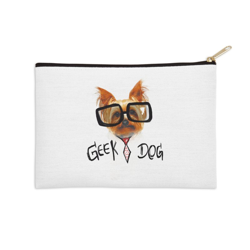GeekDog Accessories Zip Pouch by GLANZ