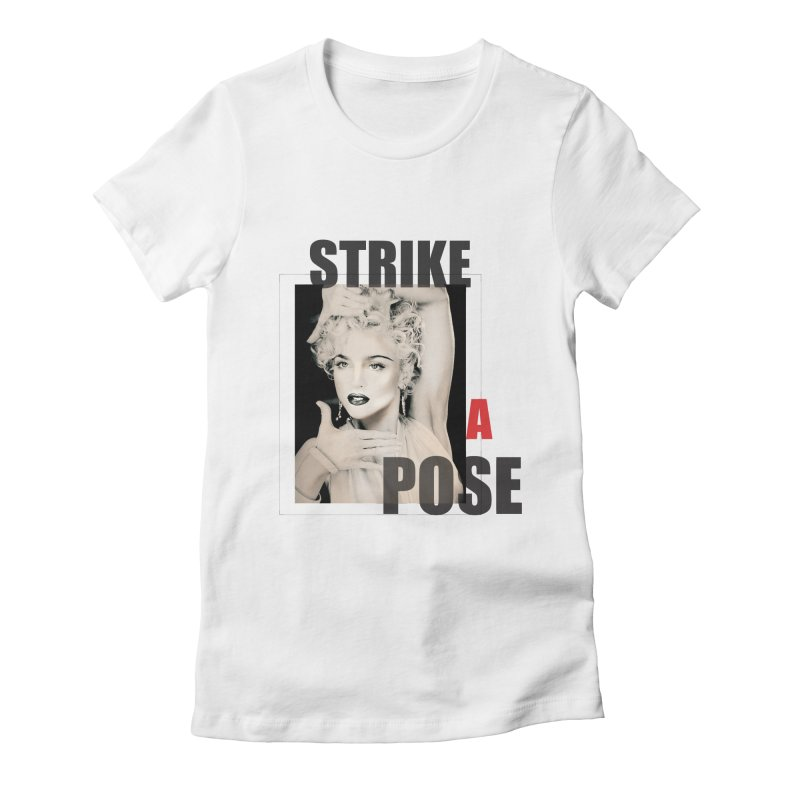 StrikeApose Women's Fitted T-Shirt by GLANZ