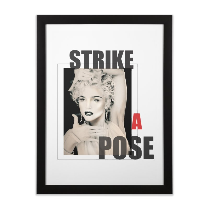 StrikeApose Home Framed Fine Art Print by GLANZ
