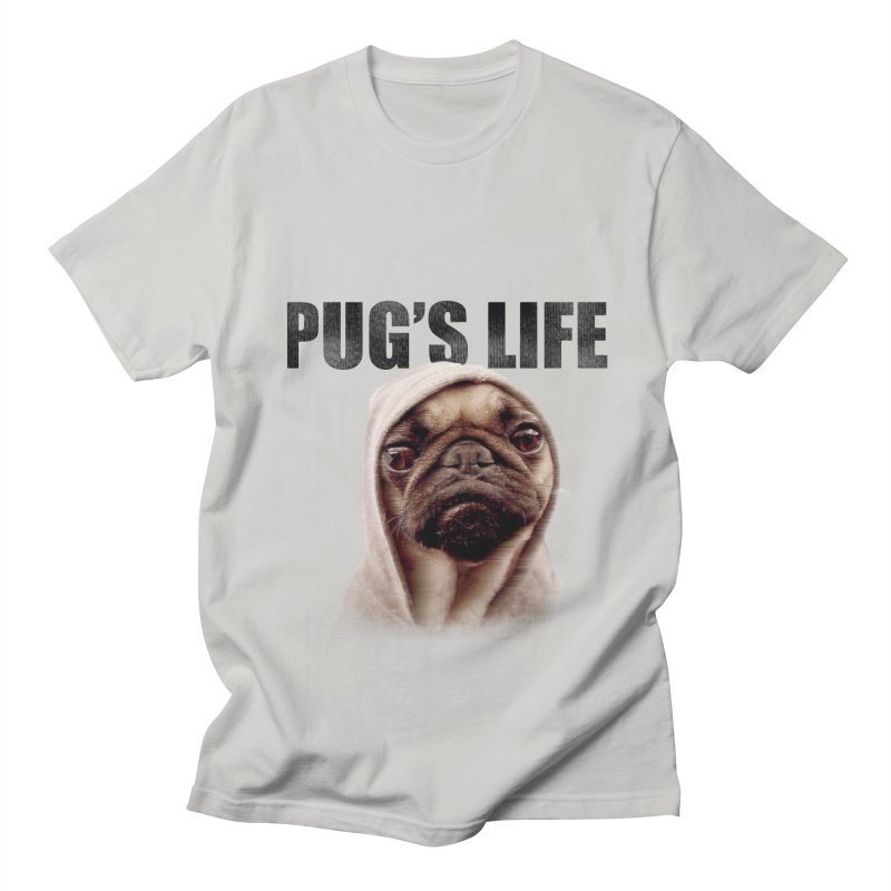 Pug'sLife Men's T-shirt by GLANZ