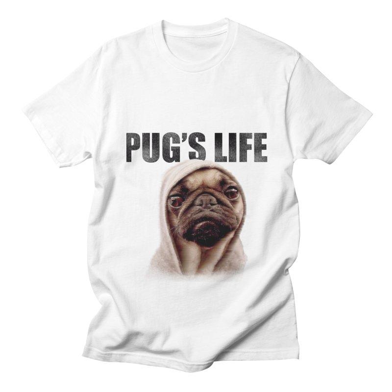 Pug'sLife Women's Unisex T-Shirt by GLANZ