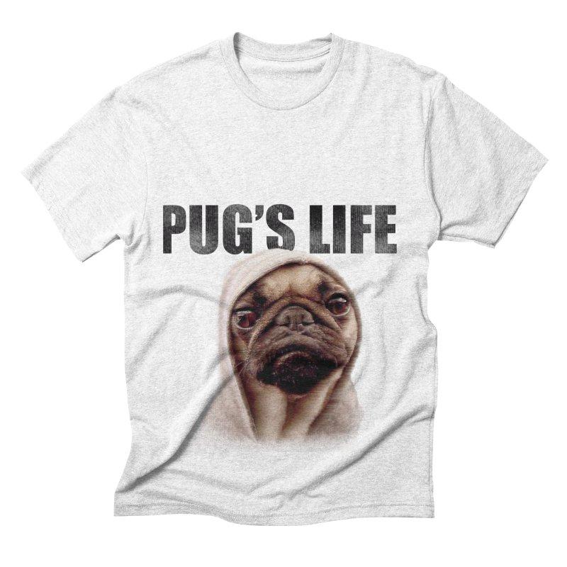 Pug'sLife Men's Triblend T-shirt by GLANZ