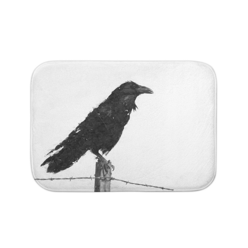 Raven Home Bath Mat by ゴロキ | GORODKEY | GRDK Clothing