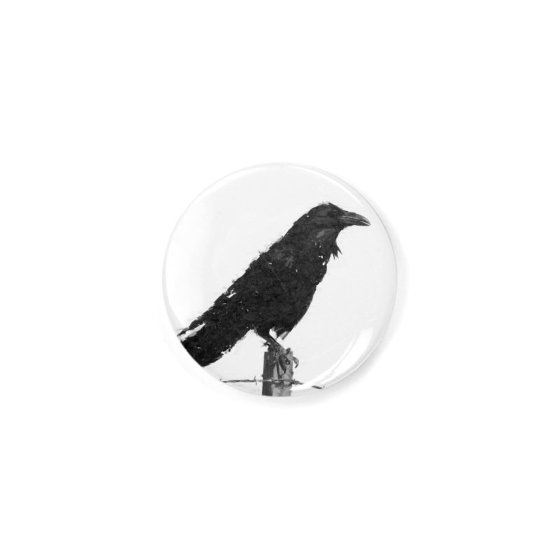 Raven Accessories Button by ゴロキ | GORODKEY | GRDK Clothing