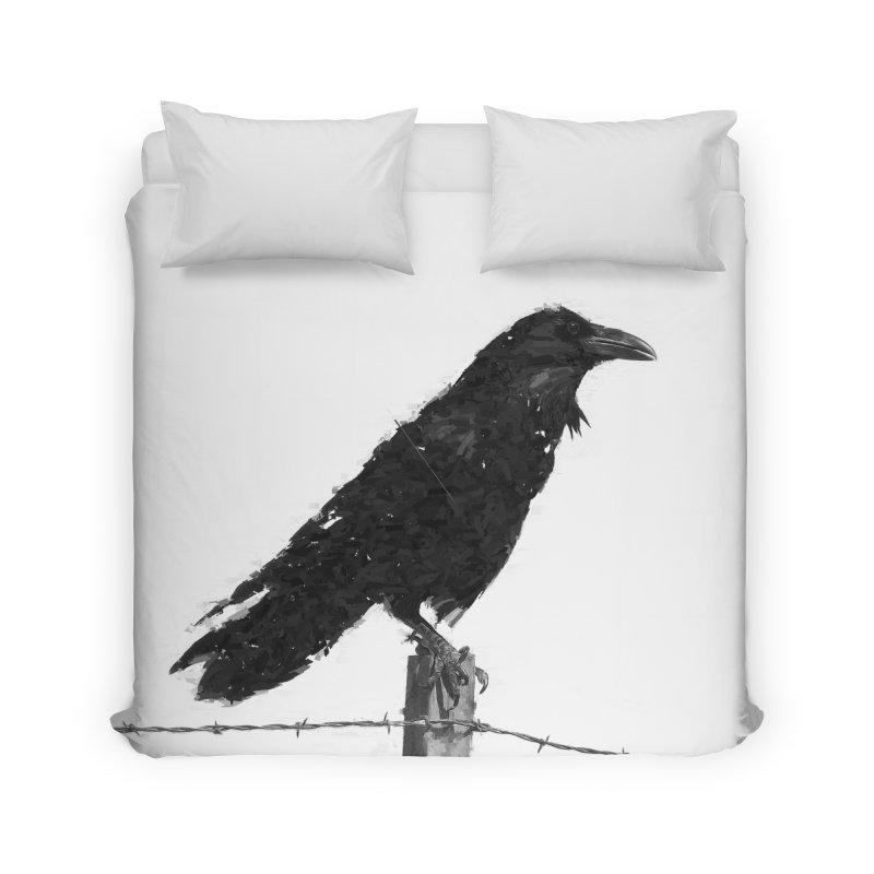 Raven Home Duvet by ゴロキ | GORODKEY | GRDK Clothing