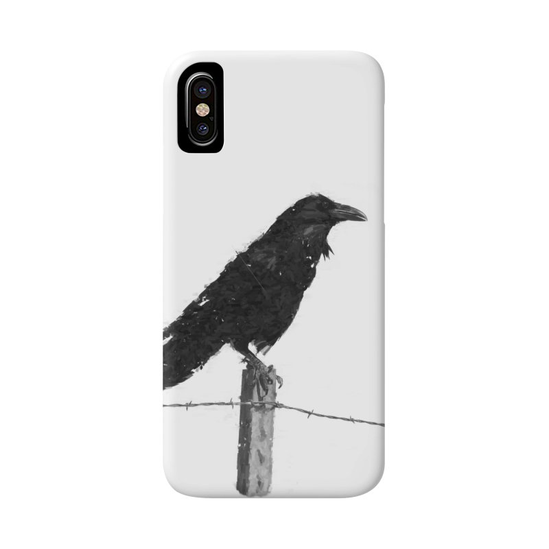Raven Accessories Phone Case by ゴロキ   GORODKEY   GRDK Clothing