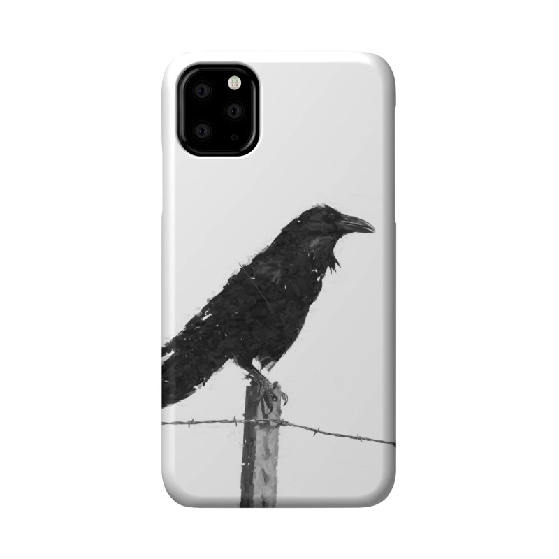 Raven Accessories Phone Case by ゴロキ | GORODKEY | GRDK Clothing