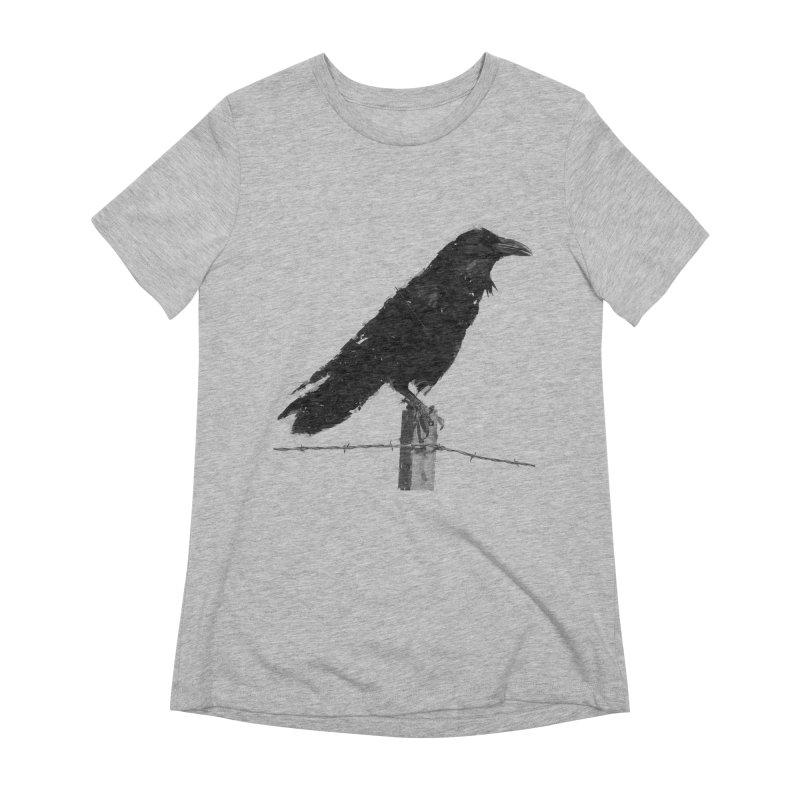 Raven Women's Extra Soft T-Shirt by ゴロキ | GORODKEY | GRDK Clothing