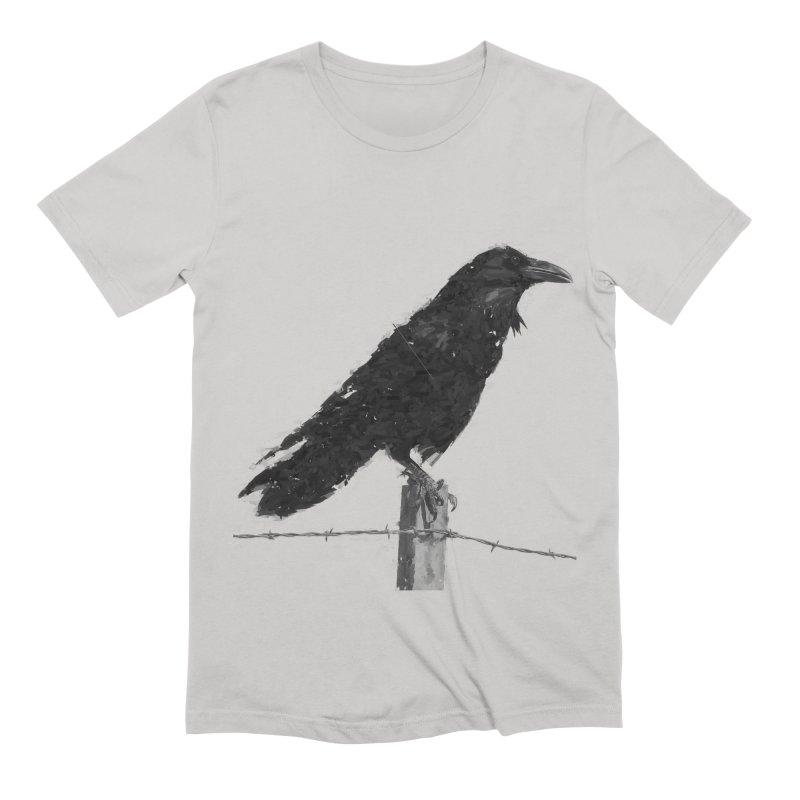 Raven Men's Extra Soft T-Shirt by ゴロキ   GORODKEY   GRDK Clothing