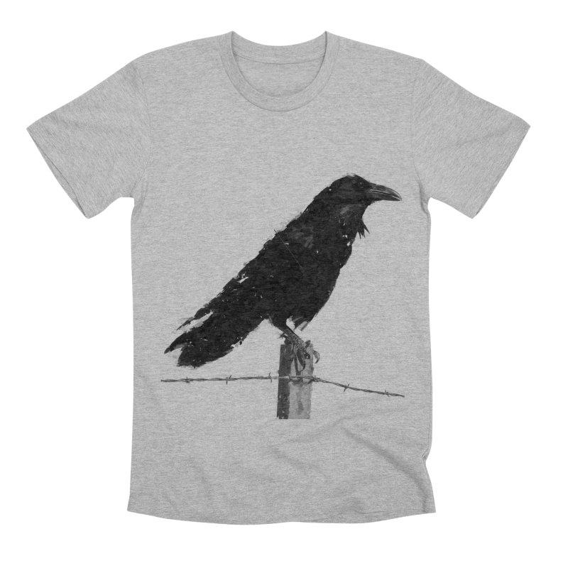 Raven Men's Premium T-Shirt by ゴロキ | GORODKEY | GRDK Clothing