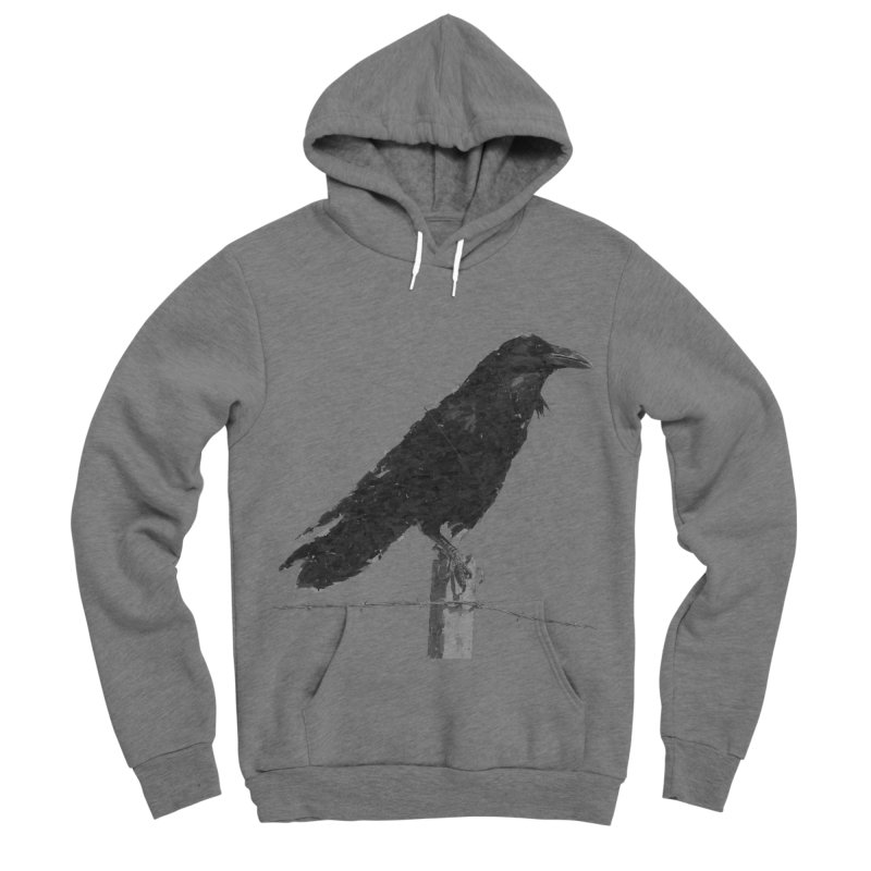 Raven Men's Sponge Fleece Pullover Hoody by ゴロキ | GORODKEY | GRDK Clothing