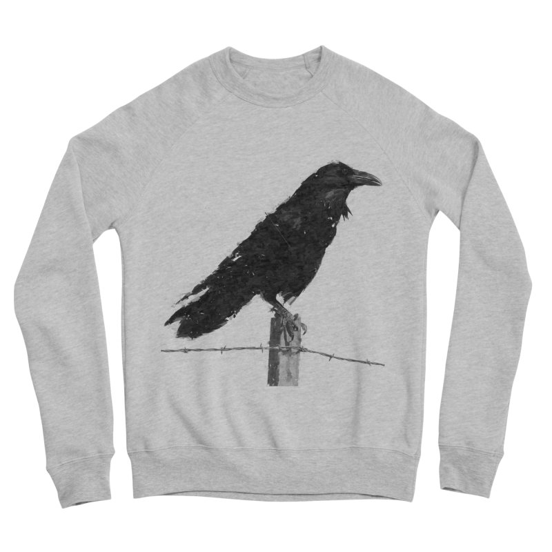 Raven Men's Sponge Fleece Sweatshirt by ゴロキ | GORODKEY | GRDK Clothing