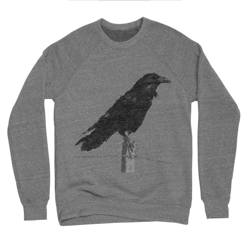 Raven Women's Sponge Fleece Sweatshirt by ゴロキ | GORODKEY | GRDK Clothing