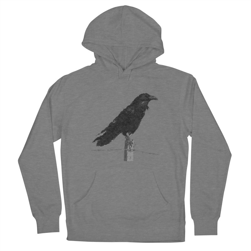 Raven Men's French Terry Pullover Hoody by ゴロキ | GORODKEY | GRDK Clothing