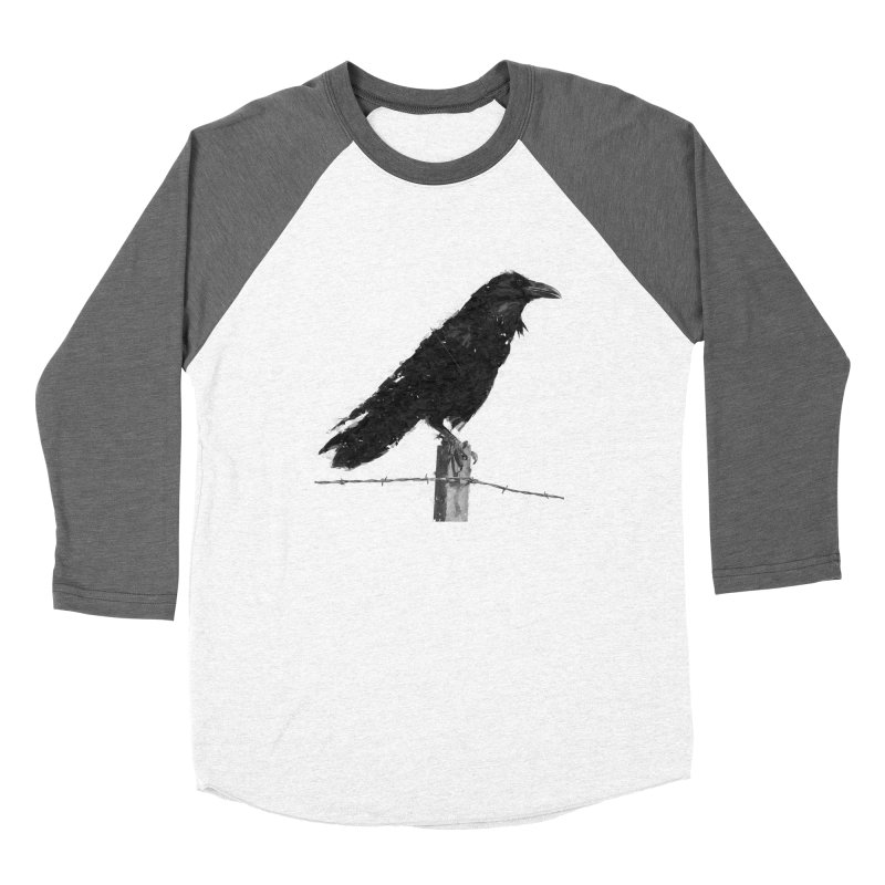 Raven Men's Baseball Triblend Longsleeve T-Shirt by ゴロキ | GORODKEY | GRDK Clothing