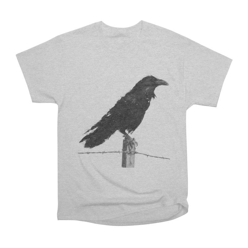 Raven Men's Heavyweight T-Shirt by ゴロキ   GORODKEY   GRDK Clothing