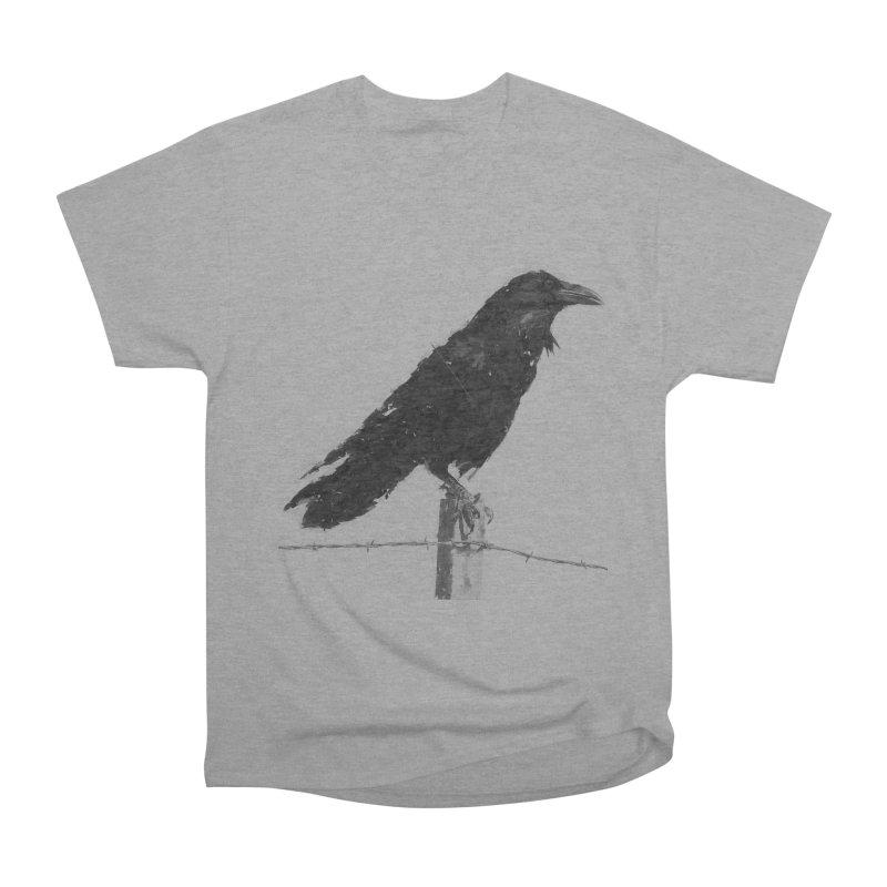 Raven Men's Heavyweight T-Shirt by ゴロキ | GORODKEY | GRDK Clothing
