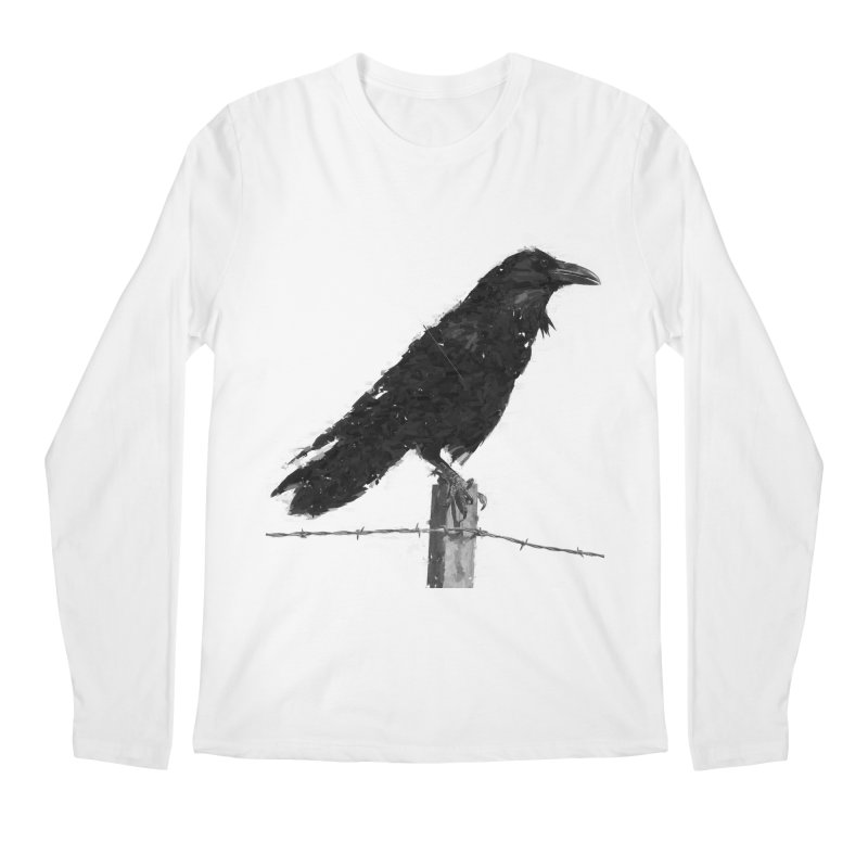 Raven Men's Regular Longsleeve T-Shirt by ゴロキ | GORODKEY | GRDK Clothing