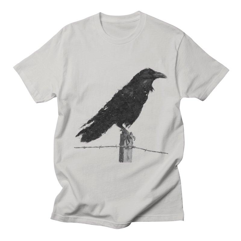 Raven Men's Regular T-Shirt by ゴロキ | GORODKEY | GRDK Clothing