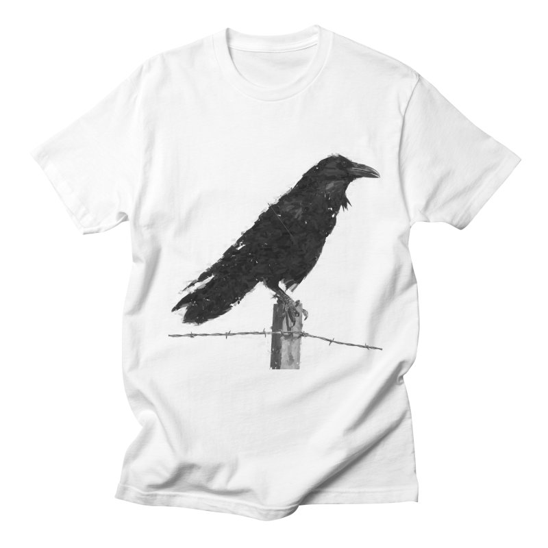 Raven Women's Regular Unisex T-Shirt by ゴロキ | GORODKEY | GRDK Clothing